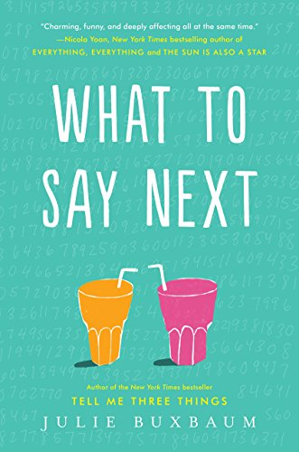 What to Say Next by [Buxbaum, Julie]