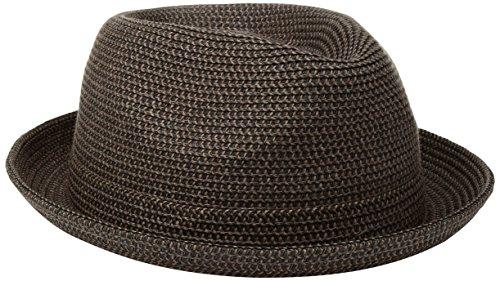 Country Gentleman Men's Joey Snap Brim Braided Fedora Hat
