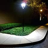 Led Post Top Pole Lights 100W with Photocell LED