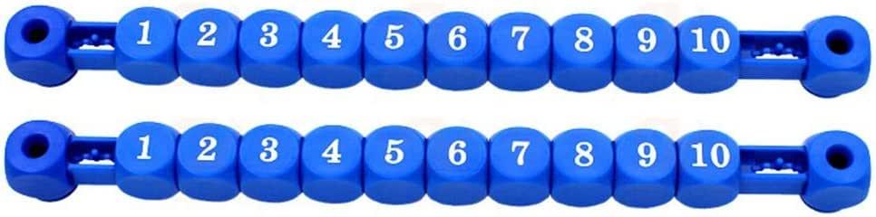 Wetour 2PCS Foosball Scoreboard Table Soccer Scoreboard Accesorios para máquinas de fútbol: Amazon.es: Hogar