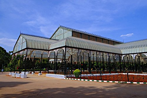 Laminated Poster Glass House Botanical Garden Bangalore Lal Bagh Poster Print 24 x 36 (Bangalore Garden Furniture)