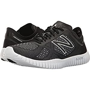 New Balance Men's Flexonic 99V2 Training Cross-Trainer Shoe, White/Reflective Black, 9.5 4E US