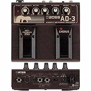 boss ad 3 acoustic instrument effects processor musical instruments. Black Bedroom Furniture Sets. Home Design Ideas