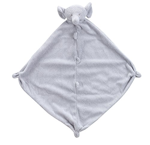 Angel Dear Cuddle Blanket, Grey Elephant (Cashmere Layette)