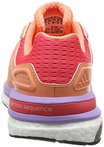 Rojo Sequence Zapatillas Boost Running 8 Brisol Rojimp brisol Mujer Supernova De Adidas W zf5qBfnU