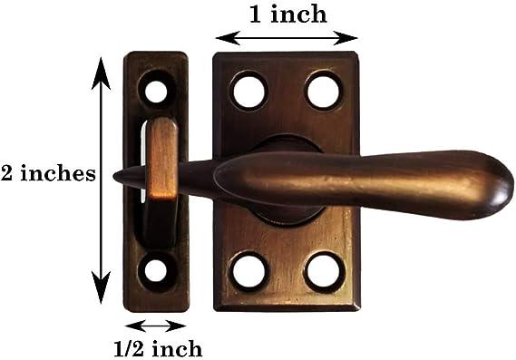 Nickel Brass 3 Strikes Black Casement Fastener Bronze Warwick Window Lock