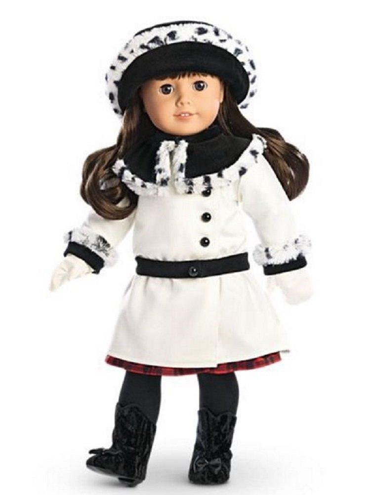 American Girl Samanthas Fancy Coat Set for 18 Dolls