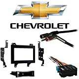 amazon com chevy chevrolet s10 pickup 1994 1995 1996 1997 gmc fits chevy s 10 pickup 94 97 double din stereo harness radio install dash