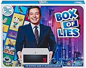 Hasbro Gaming The Tonight Show Starring Jimmy Fallon Box of Lies Party Game for Teens and Adults
