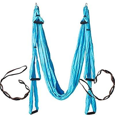 A-dream Yoga Sling Poignée Parachute Tissu anti Gravity exercices de fitness exercices de yoga d'entraînement sur