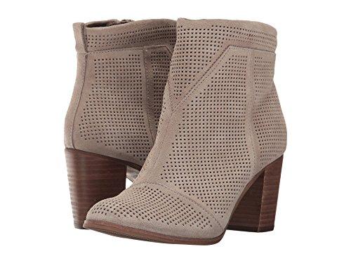 Toms Womens Lunata Boot Desertaupe / Suede / Perforato