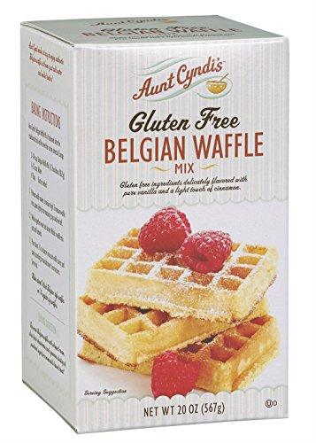 Aunt Cyndi's Gluten Free Mix, Belgian Waffle, 20 Ounce