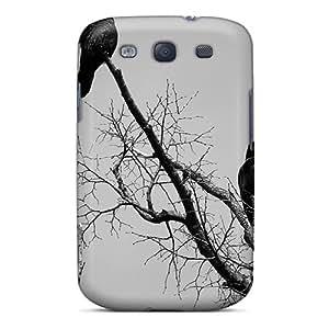 New Design Shatterproof VVFulrg2121nQqUR Case For Galaxy S3 (black Crows)