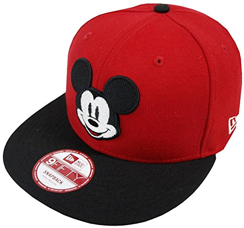 Era Mickey 9fifty Edition Cap Limited Snapback Mouse FA Special Disney Red New 4BAxw4q
