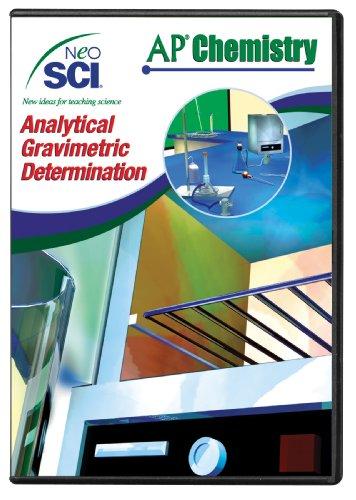 Neo/SCI Analytical Gravimetric Determination Neo/LAB AP Chemistry Software, Network License ()
