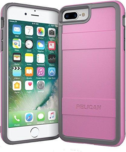 Pelican Protector iPhone 7 Plus Case (Light Pink/Dark Gray)