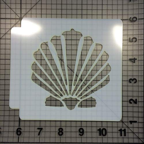 Seashell Stencil 100 (4 inches)