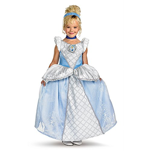 [Storybook Cinderella Prestige Costume - Medium (7-8)] (Disney Princess Cinderella Prestige Costumes For Babies)