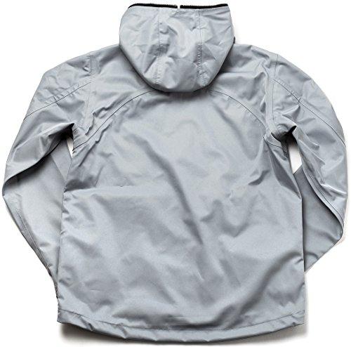 SHIELDS(シールズ) フットゴルフ アウター TREK & TURF ジャケット フーデット レインジャケット M-FB01-02 グレー XL