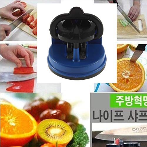 Kitchen Shear - Stylish Knife Sharpener Scissors Grinder Secure Suction Chef Sharpening Sharpeners - Come Meat Henckels Cover Shears Whetstone Mincer Suction Kitchen Chef Jacket Sharpen Weed D