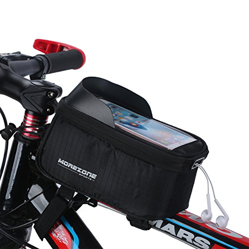Bike Bag Basket Morezone Cycling Bicycle Frame Bags Phone Mount