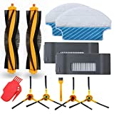 aoteng Replacement for Ecovacs Deebot M80 M80 Pro DT85 DT83 DM81 DM85 Robot Vacuum Cleaner Accessory kit (Set 2)