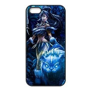 Generic for iPhone 5 5s Cell Phone Case Black Nidalee Custom HAAFFGKGK3111