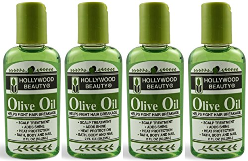 Hollywood Beauty Olive Oil, 2 Oz (Pack of 4) - Olive Oil Beauty Treatments