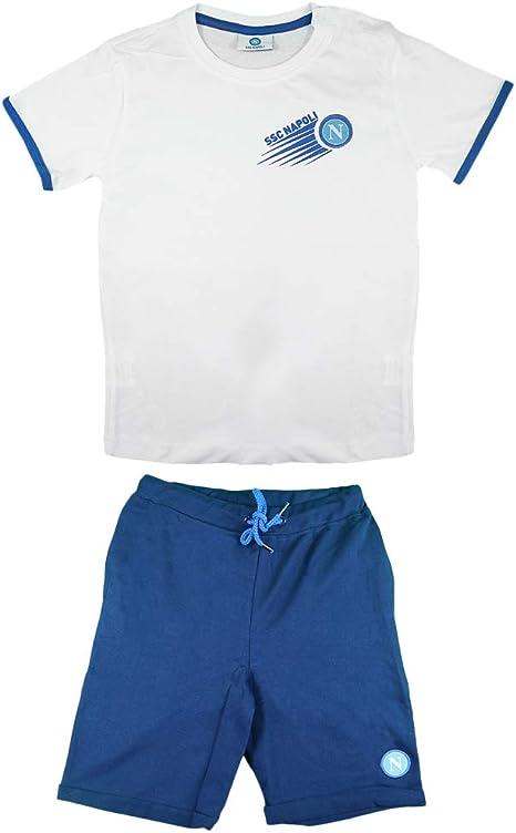 SSC NAPOLI Completino T-Shirt Short Neonato/Bambino N90502-N90451 ...