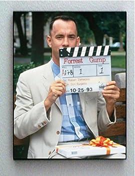 Framed Tom Hanks Forrest Gump Scene 1 Take 1 Vintage Production Photo. Jumbo Giclée Print