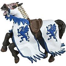Papo Dragon King Horse Blue