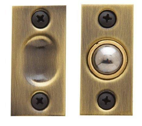 Baldwin Hardware 0425.031 Adjustable Brass Ball Catch Latch