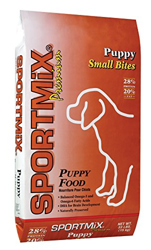 Sportmix Puppy Small Bites Dry Puppy Food, 33 Lb.