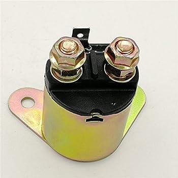 Tuzliufi Replace Solenoid Starter Relay Honda GX160 GX200 Engine Generator Go Kart TrailMaster GK50 GK80 GK163 GK196 TBM50A TBM80 MID GK-1 GK-2 Mini 5.5HP 6.5HP 163cc 196cc New Z303