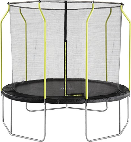 Plum NEW Galvanized Steel 10ft Trampoline with Safety Net Enclosure