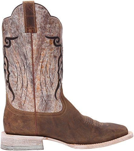 Ariat Mens Mesteno Western Cowboy Boot Dust Devil Tan / Marble