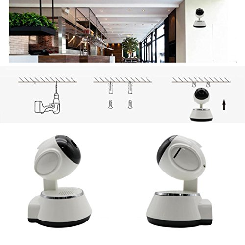 YJYdada Wireless 720P Pan Tilt Network Home CCTV IP Camera IR Night Vision WiFi Webcam by YJYdada