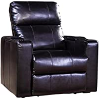 Pulaski Larson Power Recliner with USB and STO, Black