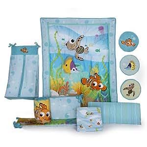 Disney Finding Nemo 8 Piece Crib Bedding Set