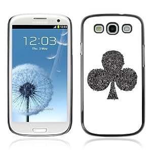 YOYOSHOP [Cool Spade Illustration] Samsung Galaxy S3 Case WANGJING JINDA