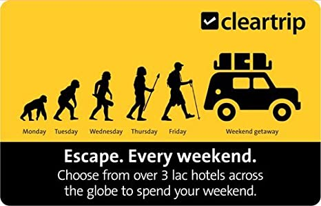 Cleartrip Hotels Gift Card
