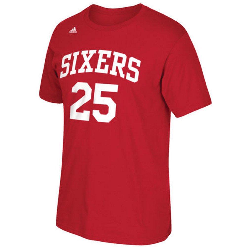 Amazon.com   adidas Philadelphia 76ers Ben Simmons Red Name and Number T- Shirt (2X)   Sports   Outdoors 85da56e09