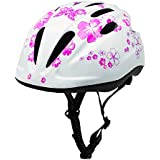 BeBeFun Pink Girl Toddler and Kids Multi-Sport Bike Super Lightweight Helmet