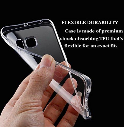 Funda Doble para Samsung Galaxy S6 Edge Plus, Vandot Bling Brillo Carcasa Protectora 360 Grados Full Body | TPU en Transparente Ultra Slim Case Cover | Protección Completa Delantera y Trasera Cocha Sm Cyprès