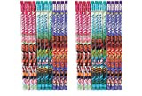 Party Favors Disney Moana Character Authentic Licensed 24 Wood Pencils Pack