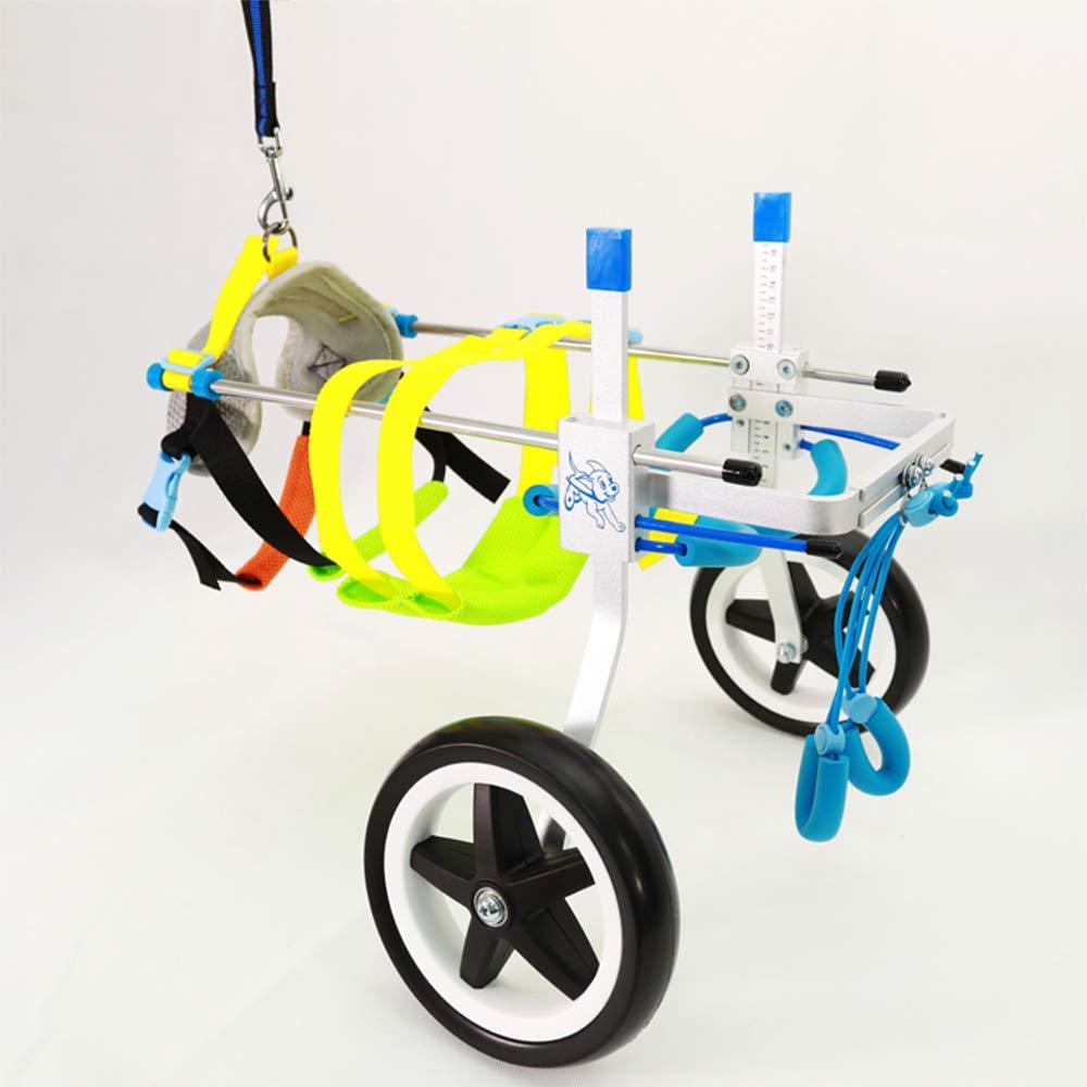 Silla de ruedas ajustable para mascotas-Chico