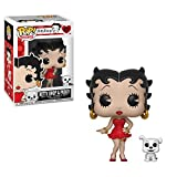 Funko Pop & Buddy: Betty Boop - Betty with Pudgy Collectible Figure, Multicolor