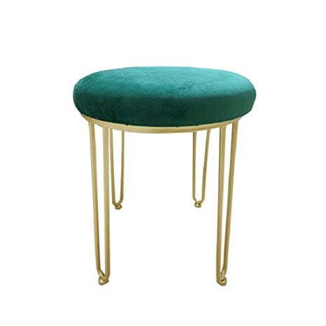 Outstanding Amazon Com Round Vanity Stool Footstools Ottoman Makeup Andrewgaddart Wooden Chair Designs For Living Room Andrewgaddartcom