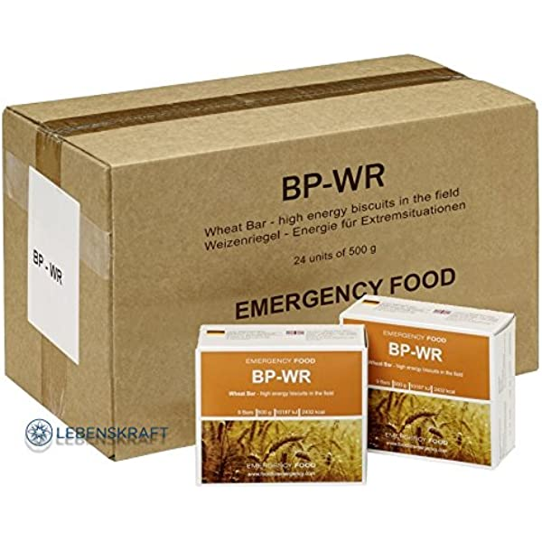 BP WR - BP 5 - 24 x 500 gramos de comida para situaciones de ...