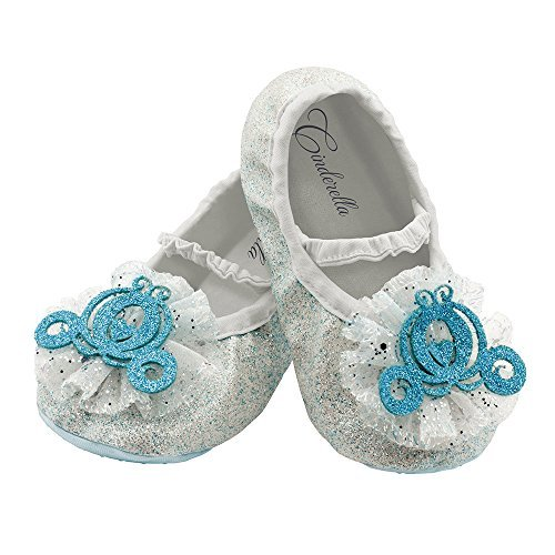 Disguise Costumes Cinderella Slippers, Toddler, Size 6